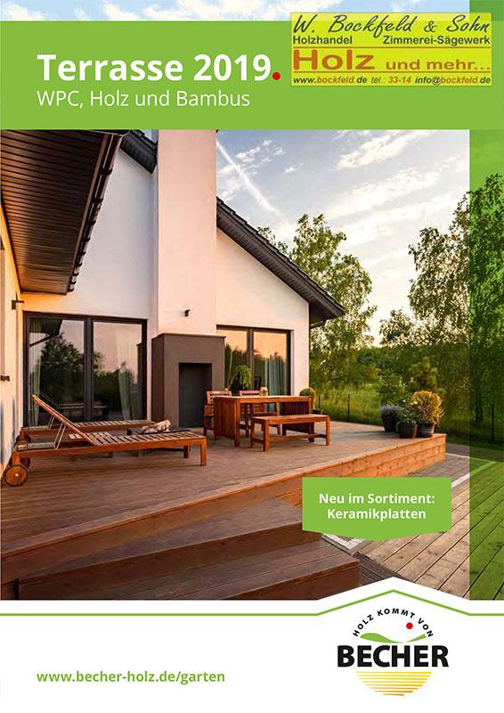 becher terrasse - Kataloge