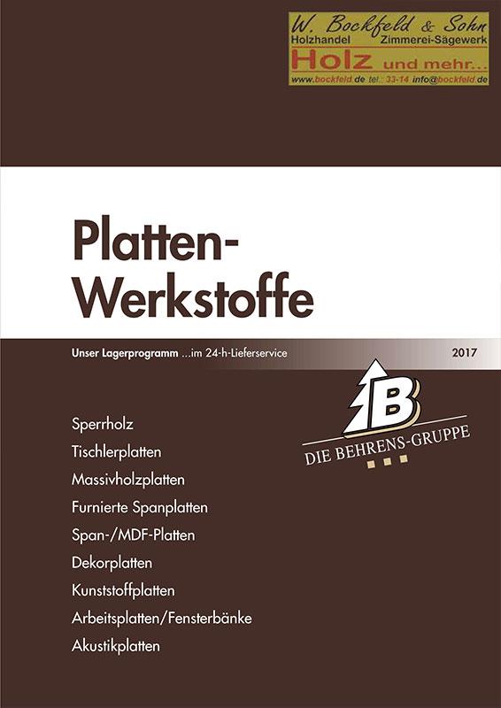 behrens platten werkstoffe - Kataloge