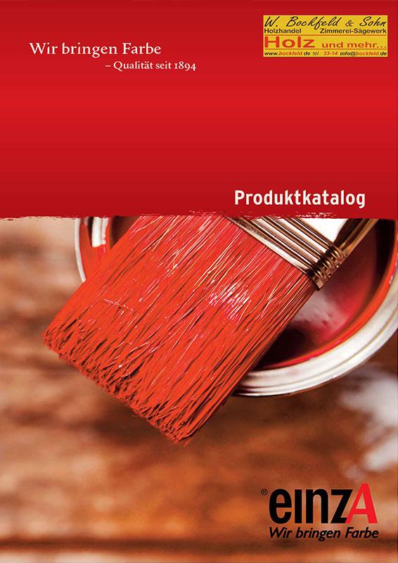 einza produktkatalog - Kataloge