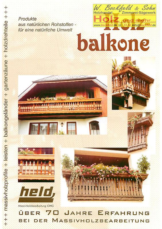 held balkon zaun leisten - Kataloge
