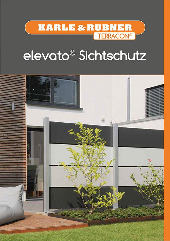 karle rubner terracon elevato sichtschutz - Kataloge