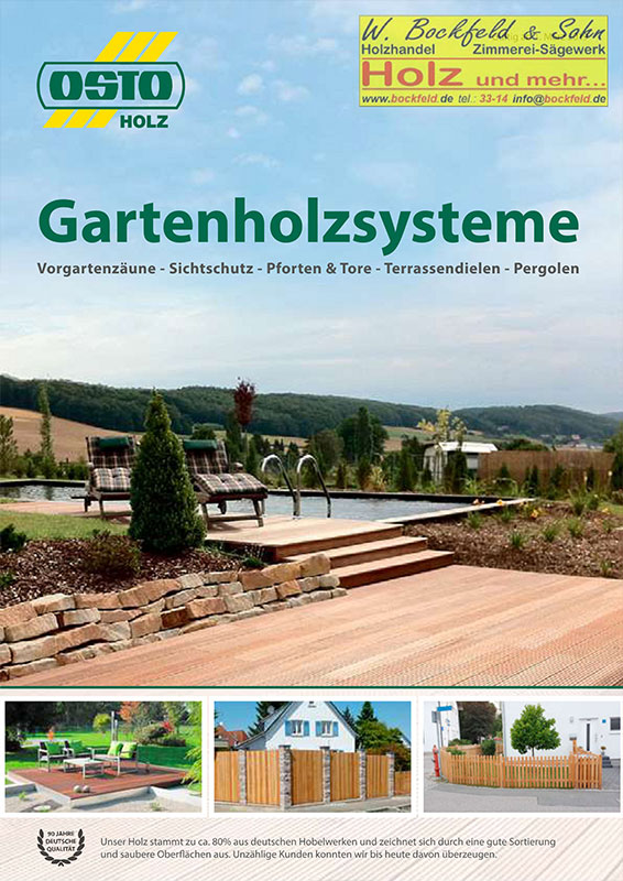 osto gartenholzsysteme - Startseite