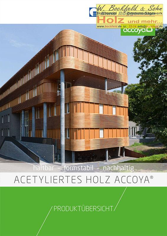 roggemann acetyliertes holz accoya - Kataloge