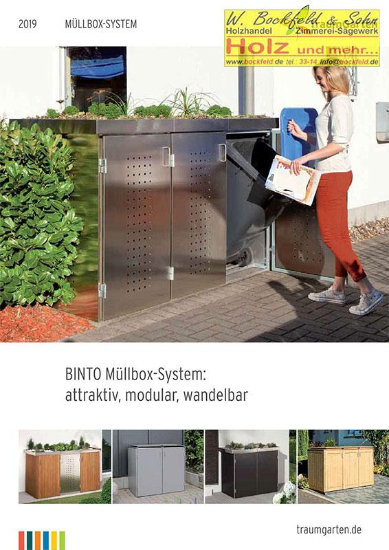 traumgarten muellboxsysteme - Kataloge