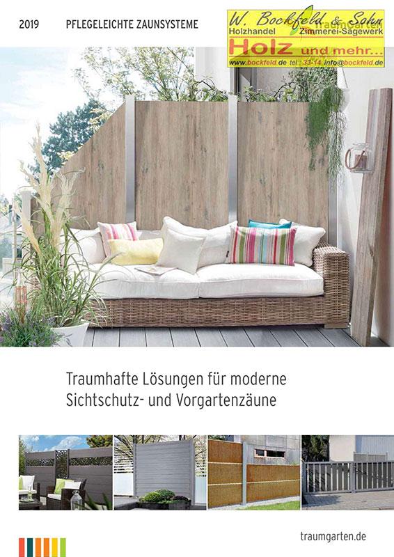 traumgarten pflegeleichte zaunsysteme - Kataloge