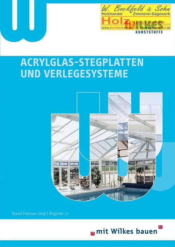 wilkes acrylglas stegplatten - Kataloge